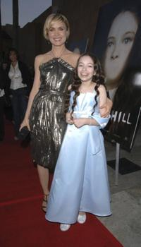 Radha Mitchell and Jodelle Ferland at the premiere of
