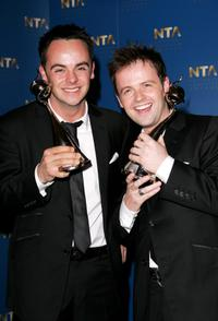 Ant McPartlin and Declan Donnelly at the National Television Awards.