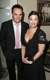 Ant McPartlin and Lisa Armstrong at the World premiere of