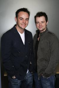Ant McPartlin and Declan Donnelly at the promotion of