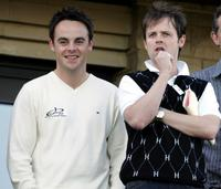 Ant McPartlin and Declan Donnelly at the All-Star Cup Celebrity Golf tournament.