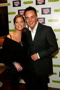 Ant McPartlin and Guest at the British Comedy Awards.