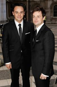 Ant McPartlin and Declan Donnelly at the ITV's 50th Anniversary Royal Reception.