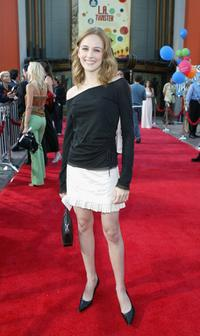 Sarah Thompson at the world premiere of