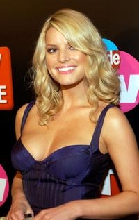 Jessica Simpson at the TV Guide and Inside TV 2005 Emmy after party.
