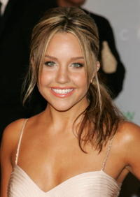 Amanda Bynes at the 2006 CFDA Fashion Awards.
