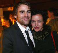 Sebastian Blomberg and Maria Schrader at the after party of the premiere of