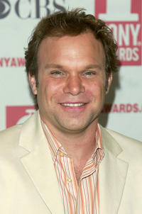 Norbert Leo Butz at the 2005 Tony Awards in New York.