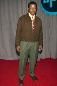 Russell Hornsby at the announcement of United Paramount Networks (UPN) 2002-2003 primetime schedule of series.