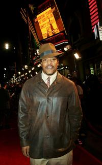 Russell Hornsby at the premiere of