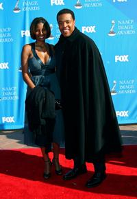 Russell Hornsby and Guest at the 39th NAACP Image Awards.