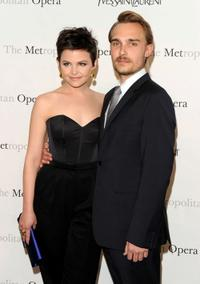 Ginnifer Goodwin and Joey Kern at the Metropolitan Opera gala premiere of
