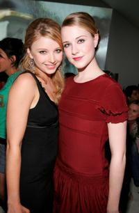 Elisabeth Harnois and Evan Rachel Wood at the after party of the premiere of