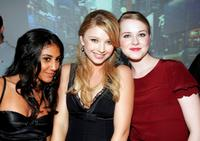 Adi Schnall, Elisabeth Harnois and Evan Rachel Wood at the after party of the premiere of