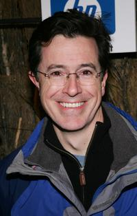 Stephen Colbert at the Entertainment Weekly's Winter Wonderland Sundance Bash during the 2005 Sundance Film Festival.