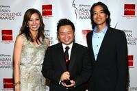 Michaela Conlin, Rex Lee and Jack Yang at the 2008 JCPenney Asian Excellence Awards.