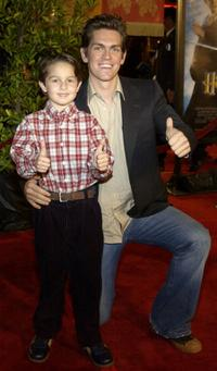 Mitch Holleman and Steve Howey at the premiere of