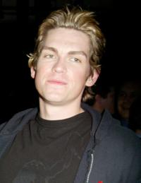 Steve Howey at the WB Television Network Upfront All-Star party.