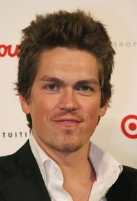Steve Howey at the Intuition party of the launch of
