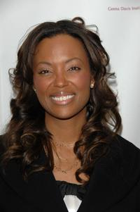 Aisha Tyler at the First Annual Geena Davis Institute on Gender in Media Industry Conference 2008.