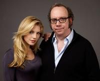 Katheryn Winnick and Paul Giamatti at the 2009 Sundance Film Festival.