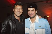 Steven Bauer and Jsu Garcia at the after party of