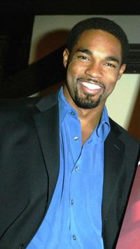 Jason Winston George at the NAACP Image Awards Cocktail reception.