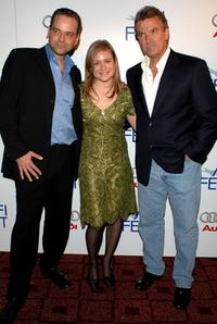 Marc Rothermund, Julia Jentsch and Eric Braeden at the Outdoor Midnight Movie during the AFI Fest.
