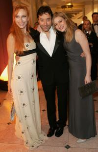Andrea Sawatzki, Jan Josef Liefers and Julia Jentsch at the Cinema for Peace Charity Gala.