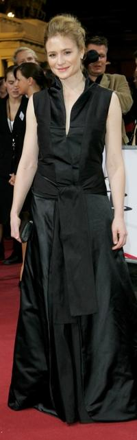 Julia Jentsch at the 20th European Film Awards.