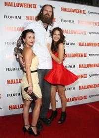 Danielle Harris, Tyler Mane and Scout Taylor-Compton at the premiere of