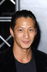 Will Yun Lee at the special screening of