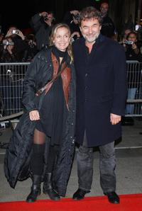 Catherine Marchal and Olivier Marchal at the Paris premiere