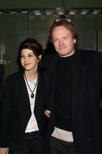 Jared Harris and Marisa Tomei at the premiere of