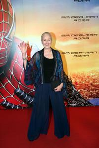 Rosemary Harris at the Italian premiere of