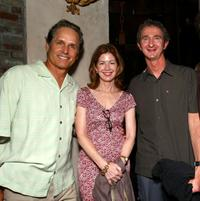Gregory Harrison, Dana Delany and Mark Richards at the after party of the premiere of