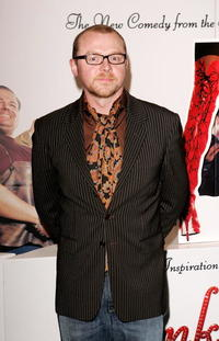 "Simon Pegg at the film premiere of ""Kinky Boots"" London, England."