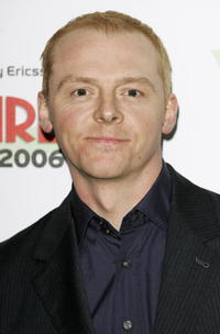 Simon Pegg at the Sony Ericsson Empire Film Awards in London, England.