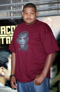 Omar Benson Miller at the Italian photocall of
