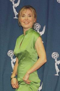 Roxanne Hart at the 1996 EMMY awards.