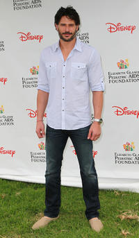 Joe Manganiello at the Elizabeth Glaser Pediatric AIDS Foundation's