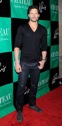 Joe Manganiello at the Chateau Nightclub & Gardens in Las Vegas.