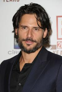 Joe Manganiello at the E 20th Anniversary party.