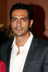 Arjun Rampal at the Bollywood party in Mumbai.