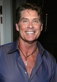 David Hasselhoff at the season one and season two DVD release party of