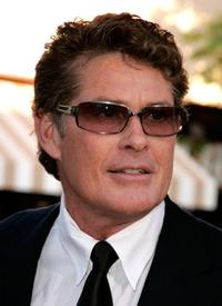 David Hasselhoff at the premiere of