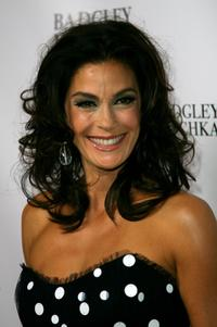 Teri Hatcher at the celebration for her new Badgley Mischka marketing campaign.