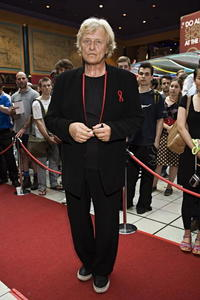 Rutger Hauer at the premiere of