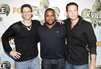 Producer Jonathan Lisco, Anthony Anderson and Cole Hauser at the premiere of