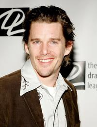 Ethan Hawke at the 71st Annual Drama League Awards Luncheon.